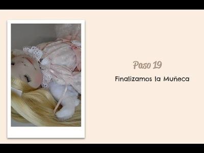 Paso 19 - Finalizacion de la muñeca - Diy Handmade Dolls