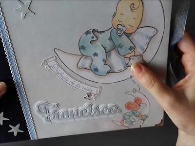 ALBUM SCRAPBOOKING BEBÉ MI PRIMER AÑO