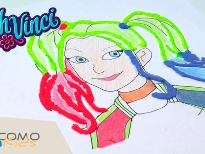 Cómo hacer a HARLEY QUEEN CON plastilina DOHVINCHI - Dibujos con DohVinchi