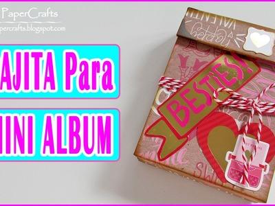Cómo hacer una Cajita para Mini Album | Tutorial Scrapbook | Scrapbooking Luisa PaperCrafts