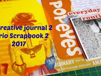 Creative Journal Process 2. Tutorial diario Scrapbook.Cristina Su - Perú