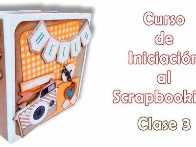 Curso de Iniciación al Scrapbooking - clase 3