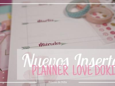 Planner LoveDoki: Nuevos insertos gratuitos descargables. Scrapook Organización.Scrapbooking.