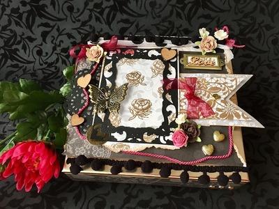 Scrapbook Valentines Box