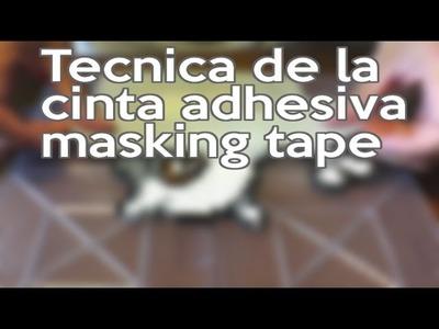Tecnica del masking tape Perler Hama Artkal Beads