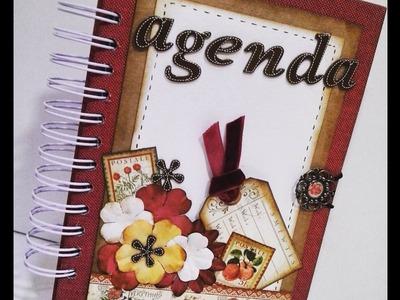 Tutorial Agenda Scrapbooking  Graphic45