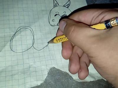 Como hacer un gato de la palabra cat en ingles