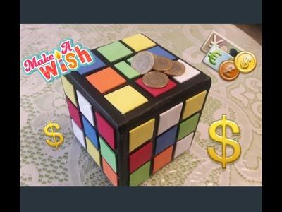DIY Alcancía de Cubo Rubik!!