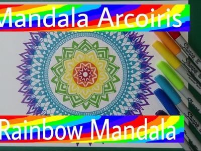 Mandala Arcoiris - Rainbow Mandala