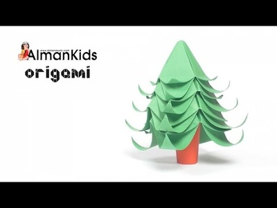 AlmanKids Origami | Albero di Natale | Árbol de Navidad | Christmas Tree