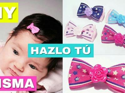 Cómo hacer moños para bebé?