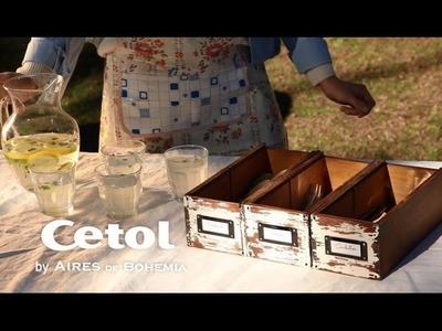 DIY - Cajon cubiertero con Cetol Balance Classic Cristal