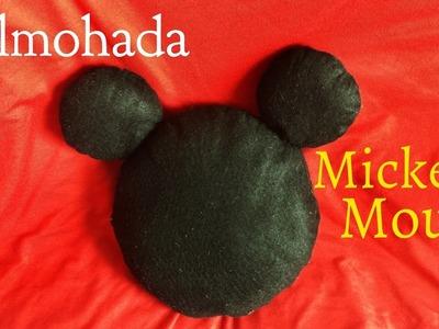 Almohada de Mickey Mouse   Diy