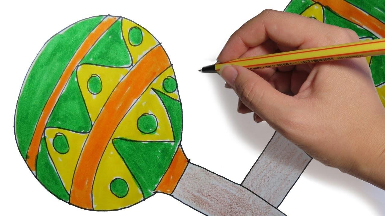 Como Dibujar Maracas Faciles Paso A Paso Dibujos Para Niños