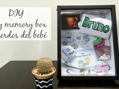 DIY BABY MEMORY BOX. RECUERDOS DEL BEBÉ????