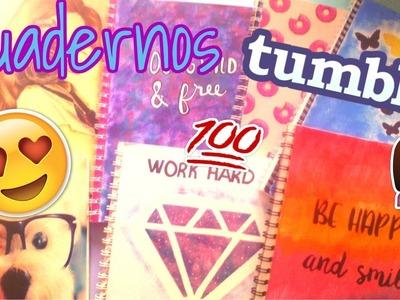 DIY Cuadernos tumblr muy faciles de hacer y sin gastar mucho!!!!!- The nanis world