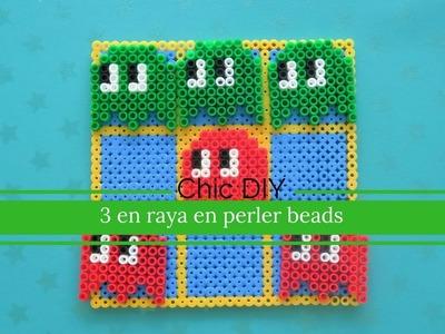 JUEGO 3  EN RAYA PERLES BEADS | DIY | CHIC DIY