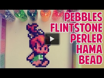 Perler Beads y Hama Beads proyecto 1 Pebbles