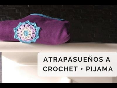 ATRAPA-SUEÑOS A CROCHET PASO A PASO
