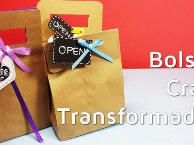 Cómo envolver regalos con bolsas de papel craft | facilisimo.com