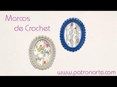 Como Hacer Marco de Crochet
