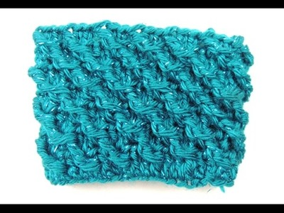 Crochet: Punto en Redondo con Relieve # 6