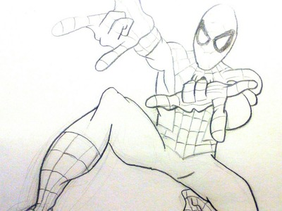 Dibujar a Spiderman: Aprende como dibujar a Spiderman paso a paso