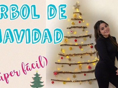DIY Árbol de navidad ÚNICO Y CASERO - Mayra Alejandra