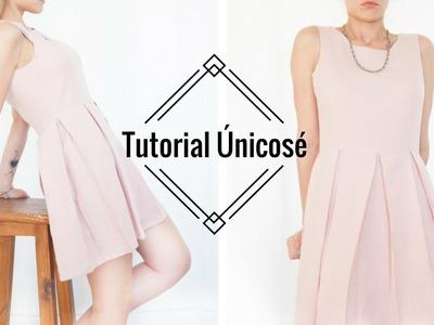 DIY Costura Vestido Tablas Mujer.