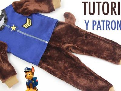 DIY Disfraz Casero para niños de la Patrulla Canina