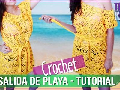 Salida de Playa en Crochet - Tutorial Paso a Paso - PARTE 1 DE 2