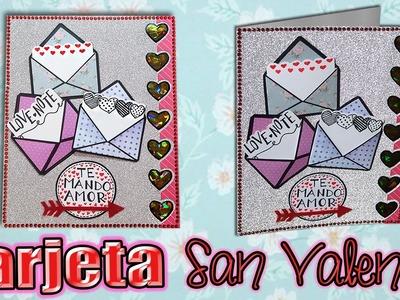 ♥ Tutorial: Tarjeta para San Valentín con Mensajes OCULTOS DIY♥