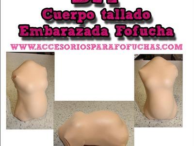 DIY Como hacer un Fofucha embarazada  El Rincón de Noe