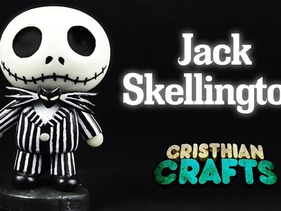 DIY JACK SKELLINGTON Cold Porcelain. Polymer Clay Tutorial | The Nightmare Before Christmas