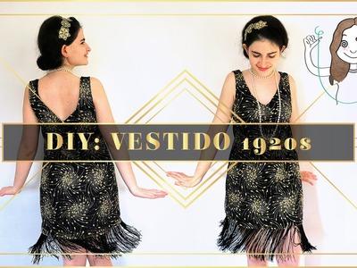DIY: vestido años 20 -  flapper costume I DIYpnotizada