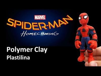 SPIDERMAN - Polymer Clay Tutorial HOMBRE ARAÑA - Plastilina