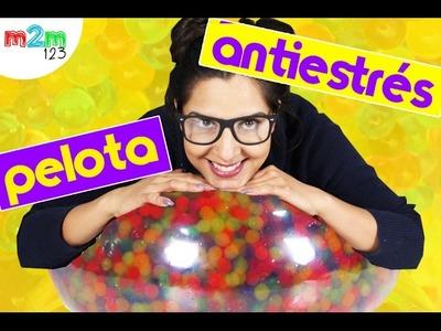 Súper pelota anti estrés   DIY   Orbeez   math2mekikds
