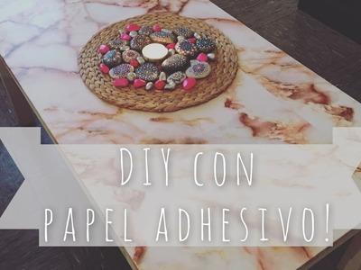3 DIY muy fáciles con papel adhesivo!