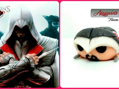 Assassins Creed : Polymer Clay Tutorial Tsum Tsum