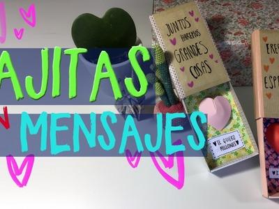 Manualidades fáciles para san valentín - ¡Caja de regalo!