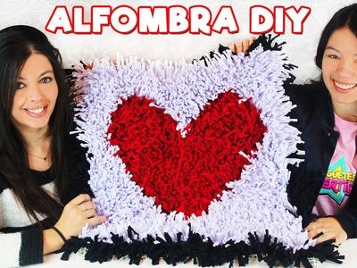 ALFOMBRA SAN VALENTIN DIY!!! Como hacer una alfombra súper fácil