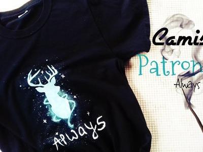 DIY Crea Tu Camiseta Patronum Always From Harry Potter Facil! || William Gordon