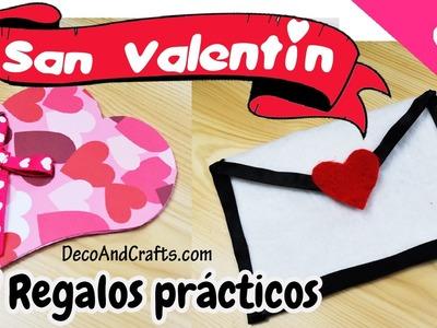 DIY IDEAS DE REGALOS UTILES PARA SAN VALENTIN (14 DE FEBRERO) - DecoAndCrafts