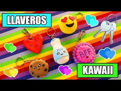 DIY LLAVEROS KAWAII. El regalo perfecto - Ingenio KD