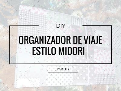 DIY Organizador de viaje. Estilo Midori parte 1