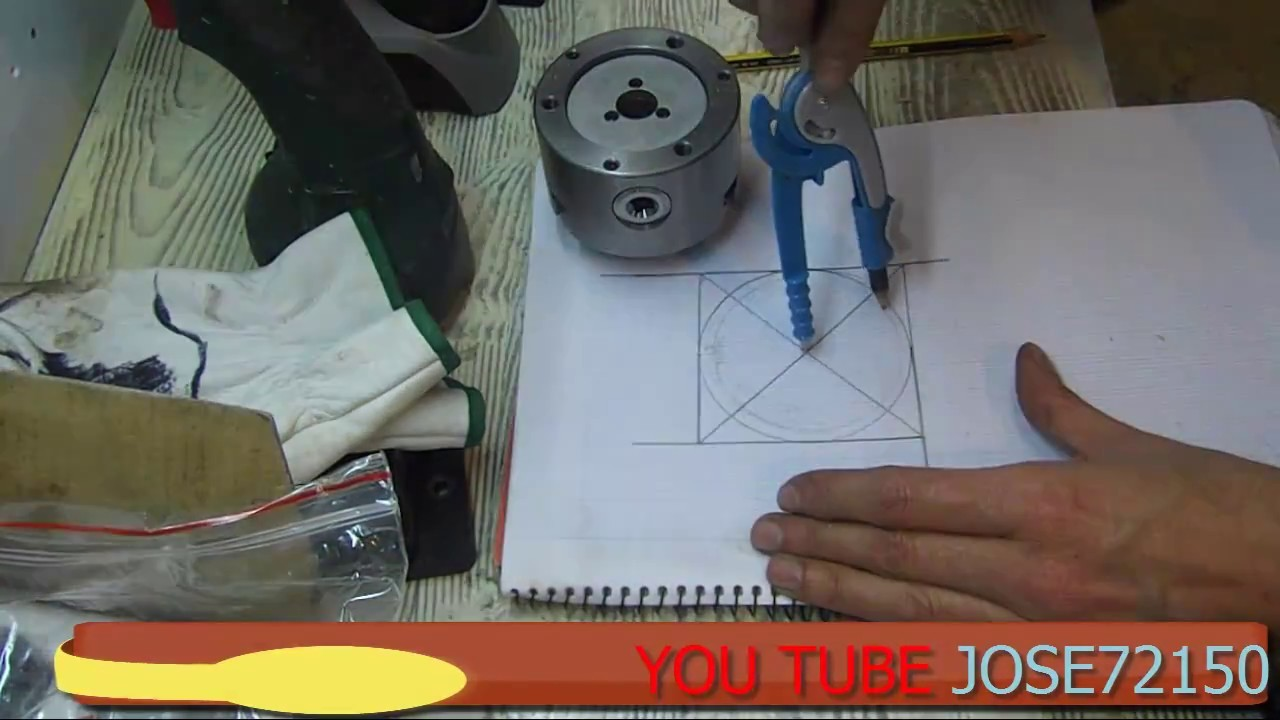 (make-haz)Acoplar  CHUCK  al plato de tornillos (DIY)