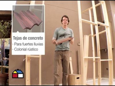 ¿Cómo construir una logia exterior?