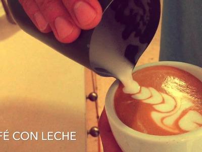 Como preparar cafés con dibujos Barista jose