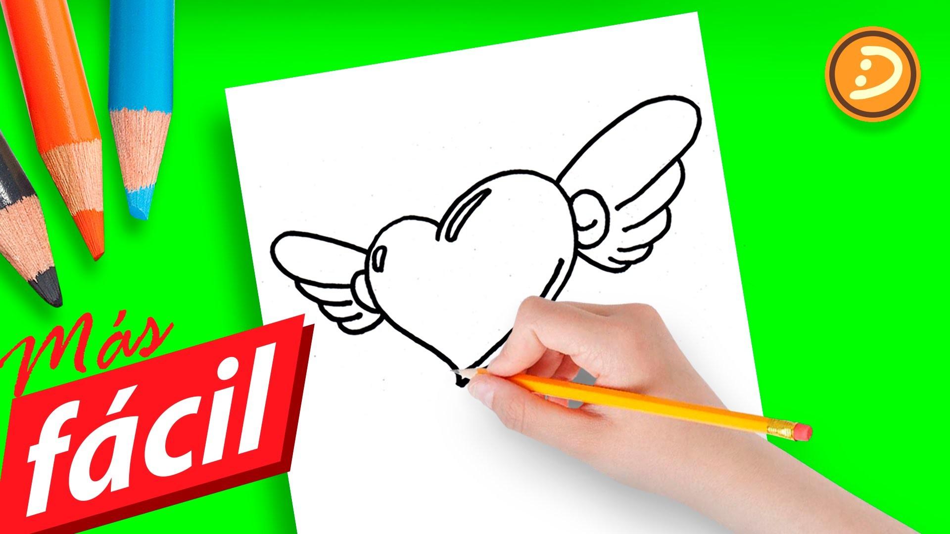 Dibujos De Amor Fáciles De Hacer Paso A Paso How To Draw A Simple