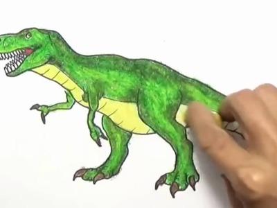 Dibujos de dinosaurios - Dibujos de dinosaurios para colorear